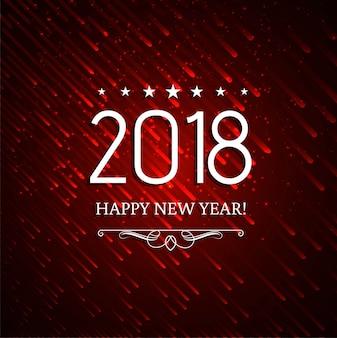 Moderne nieuwe jaar 2018 achtergrond