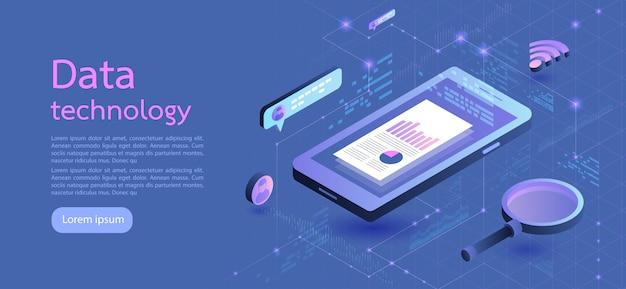 Moderne ontwerp isometrische concept bedrijf. vector illustratie.