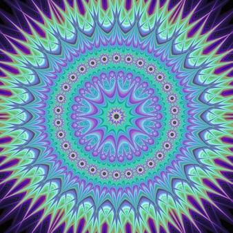 Moderne psychedelische achtergrond