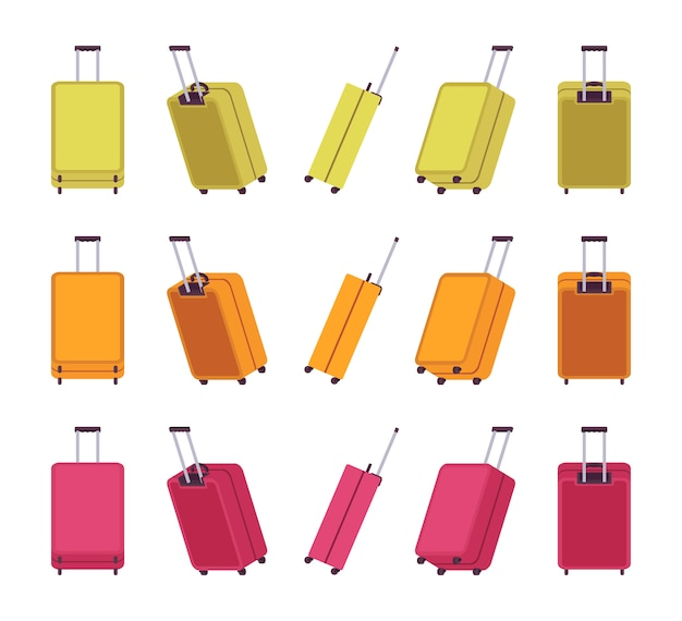 Moderne reiskoffers