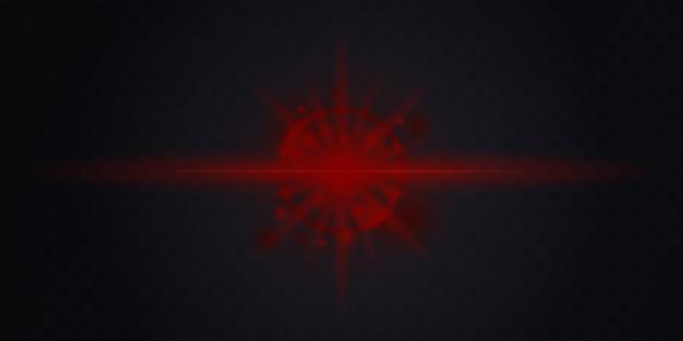 Moderne rode metalen abstracte 3d-achtergrond met dynamische overlappende lagen en lichte decoratie