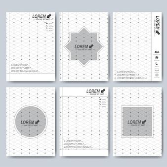 Moderne sjablonen voor brochure