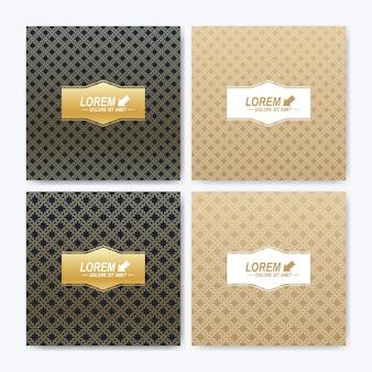 Moderne sjabloon voor vierkante brochure, folder, flyer, omslag, boekje, tijdschrift of jaarverslag.