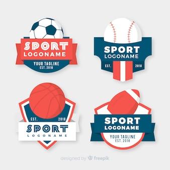 Moderne sport logo-collectie