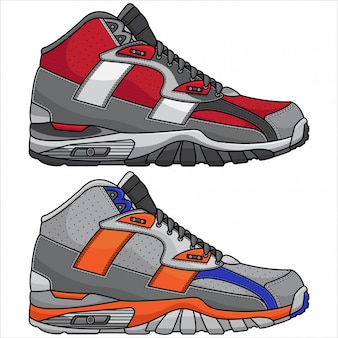 Moderne sportschoenen