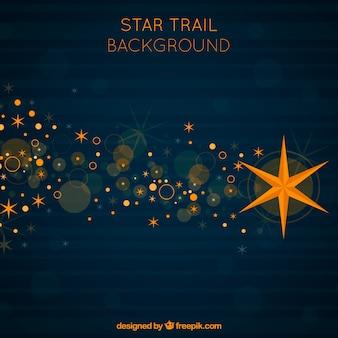 Moderne ster trail achtergrond