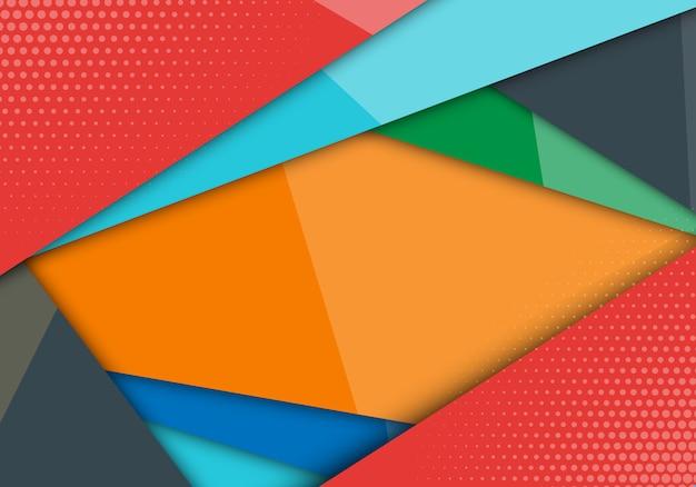 Moderne stijl abstractie lijn vormen achtergrond.