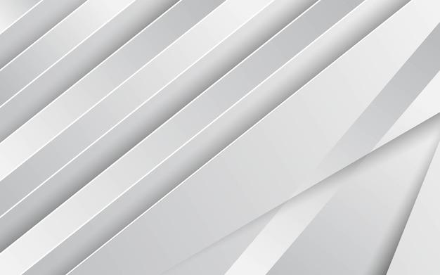 Moderne stijlvolle grijze achtergrond met papiereffect