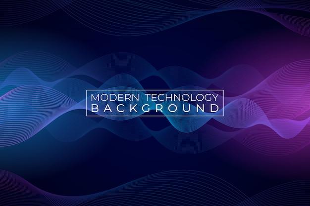 Moderne technische achtergrond