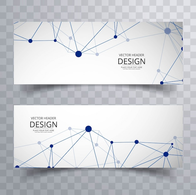 Moderne technologie banners