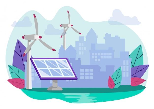 Moderne technologieën voor extractie groene energie.