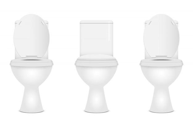 Moderne toilet illustratie