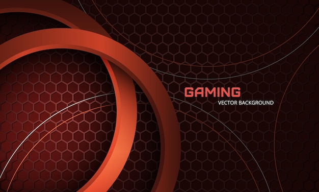 Moderne trendy sportieve gaming-achtergrond