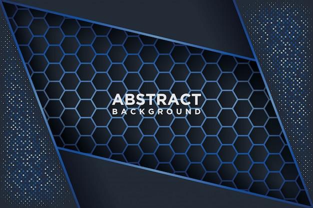 Moderne vectorsjablonen. abstracte achtergrond met overlapping.