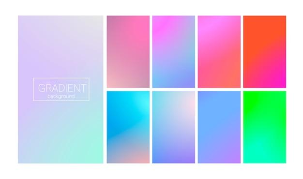 Moderne verloop instellen abstracte achtergrond