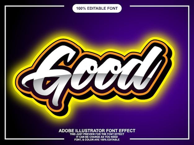 Moderne vetgedrukte letters op verloop achtergrond