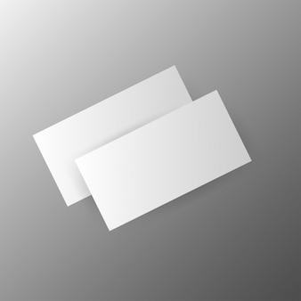 Moderne visitekaartjesjabloon vector