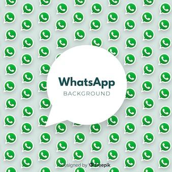 Moderne whatsapp-achtergrond