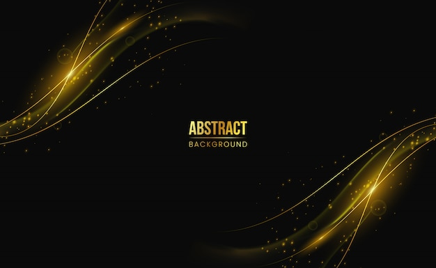 Moderne wit gouden abstracte achtergrond