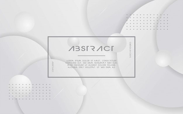 Moderne witte en grijze abstracte achtergrond.