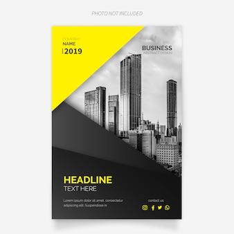 Moderne zakelijke brochure sjabloon