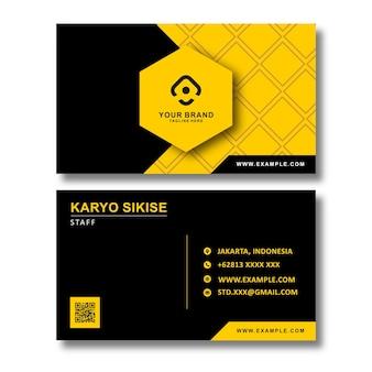 Moderne zakenkaart