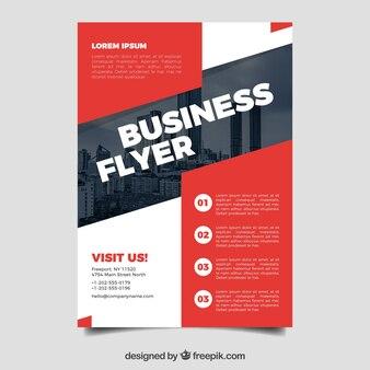Moderne zakenvlieger met fotomozaïek