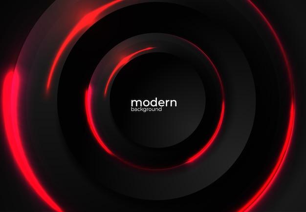Moderne zwarte vector achtergrond
