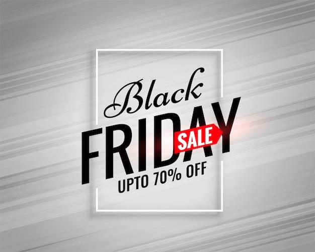 Moderne zwarte vrijdag verkoopsjabloon