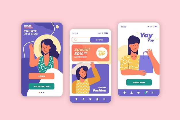 Modewinkel-app