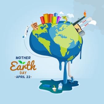 Moeder aarde is ziek