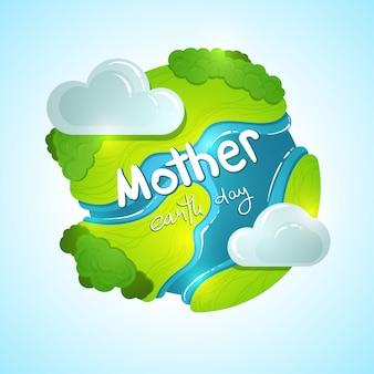 Moeder earth globe