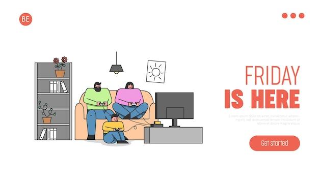 Moeder en zoon tijd samen doorbrengen thuis spelen van videogames