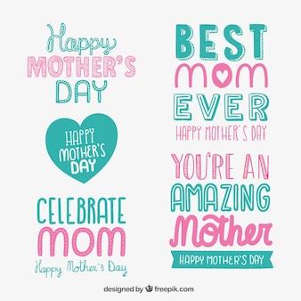 Moeders dag belettering