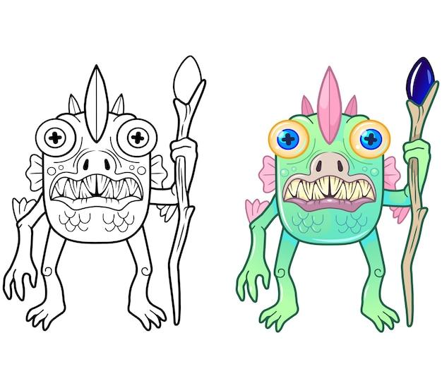 Moeras monster