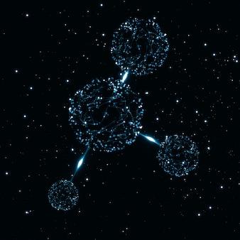 Moleculaire abstracte structuur