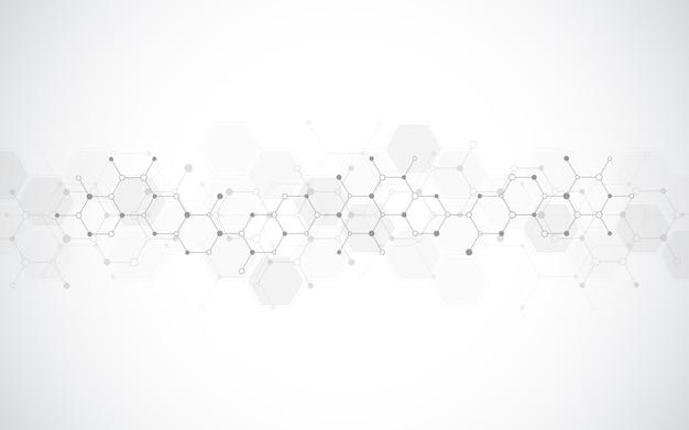 Moleculaire structuren of chemisch technologisch genetisch onderzoek