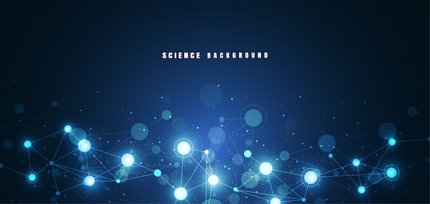 Moleculaire structuur achtergrond