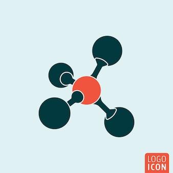 Molecuul pictogram geïsoleerd