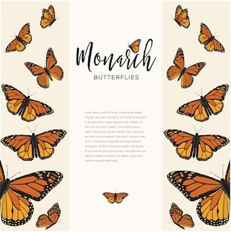 Monarch vlinders samenstelling