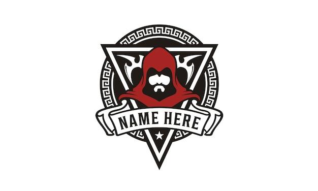Monk assassin badge game community-logo