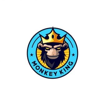 Monkey king logo-ontwerp