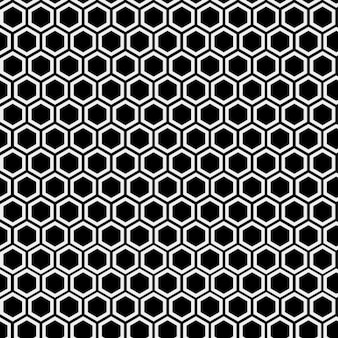 Monochromatische bijenkorf patroon