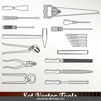 Monochromatische tools set