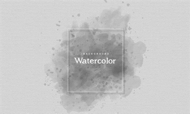 Monochrome aquarel splash achtergrond
