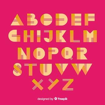 Monochrome gradiënt typografie