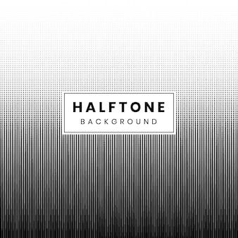 Monochrome halftone gradiant dots op witte achtergrond