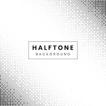 Monochrome halftoonrasterpatroon