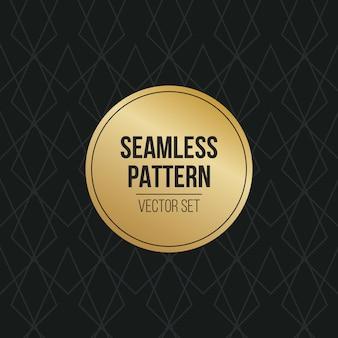 Monochroom geometrische patroon