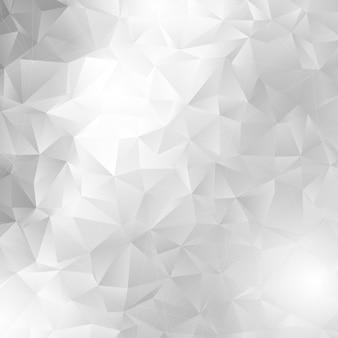 Monochroom laag poly ontwerp Gratis Vector